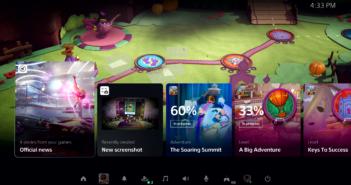 Sony показала революционный интерфейс PlayStation 5